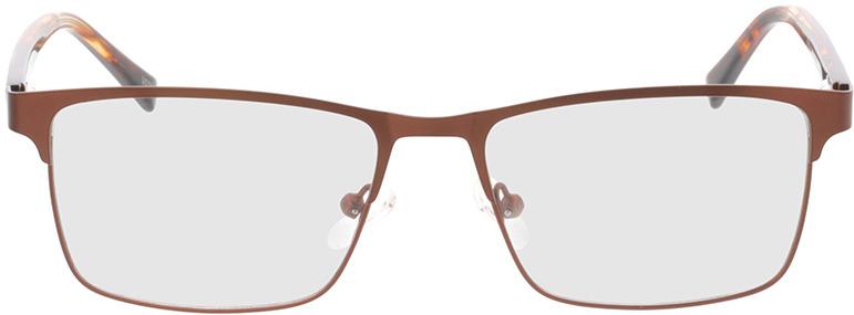 Picture of glasses model Gemino-matt braun  in angle 0