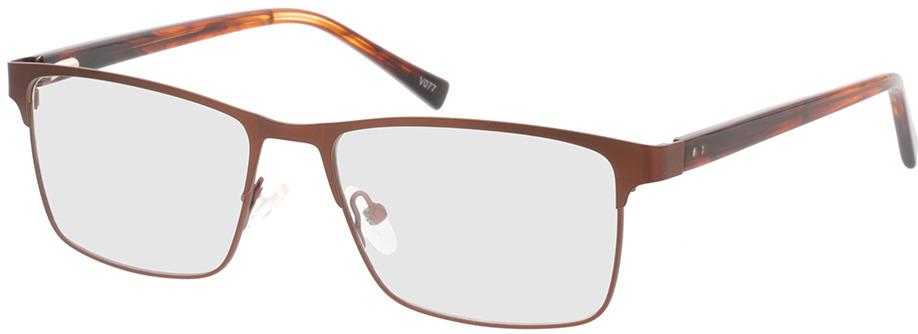 Picture of glasses model Gemino-matt braun  in angle 330
