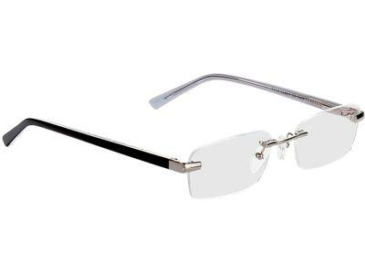 Brille Bristol-silber/schwarz