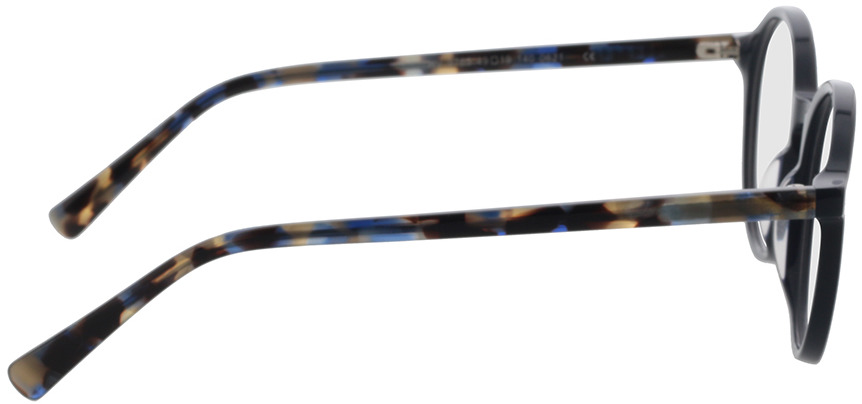 Picture of glasses model Reso-dunkelblau in angle 90