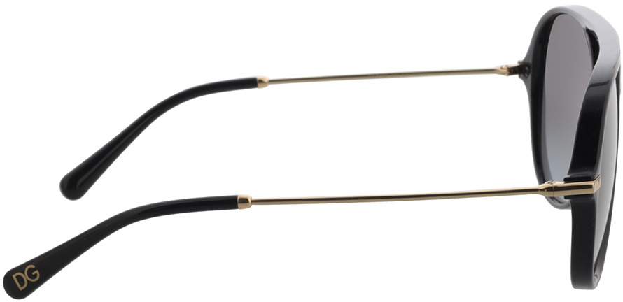 Picture of glasses model Dolce&Gabbana DG6159 501/8G 58 in angle 90