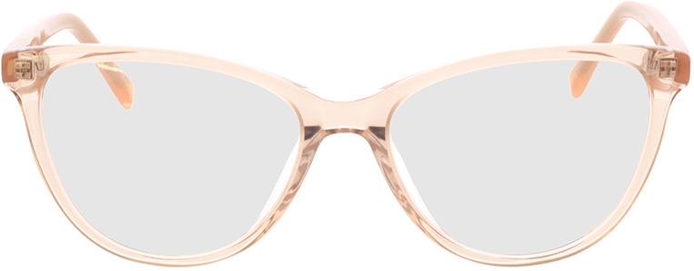 Picture of glasses model Alexia-castanho-transparente in angle 0