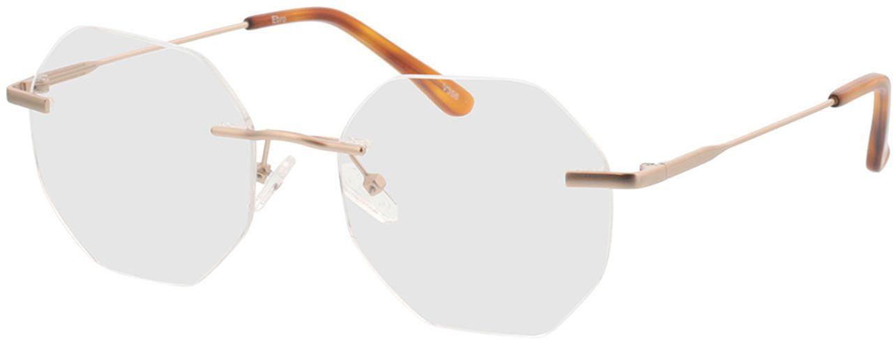 Picture of glasses model Ebro-gold in angle 330