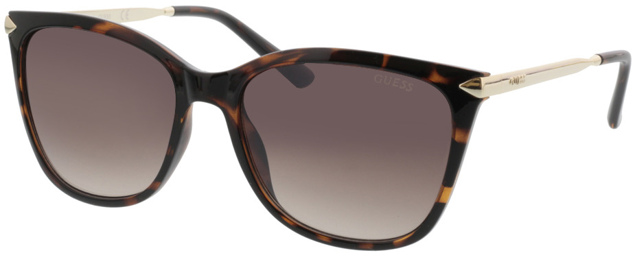 Picture of glasses model Guess GU7483 52G 56-17 in angle 330