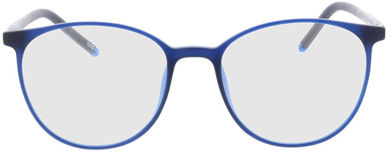 Picture of glasses model Conroe-matt blau in angle 0