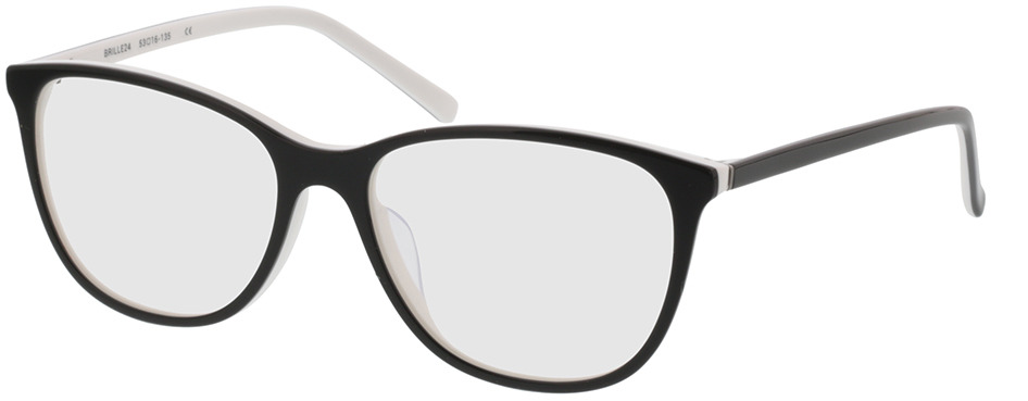 Picture of glasses model Lakeside-noir/blanc in angle 330