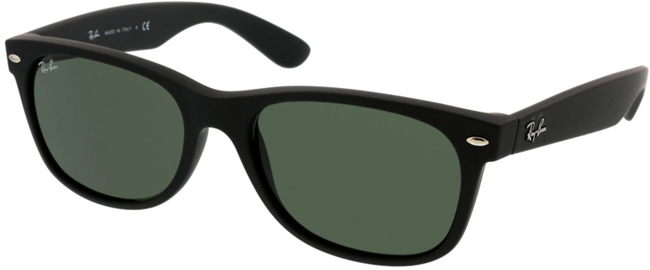 Picture of glasses model Ray-Ban New Wayfarer RB2132 622 55-18 in angle 330