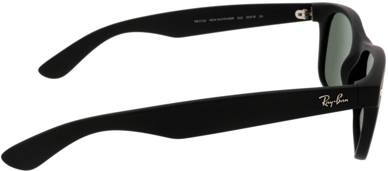 Picture of glasses model Ray-Ban New Wayfarer RB2132 622 55-18 in angle 90