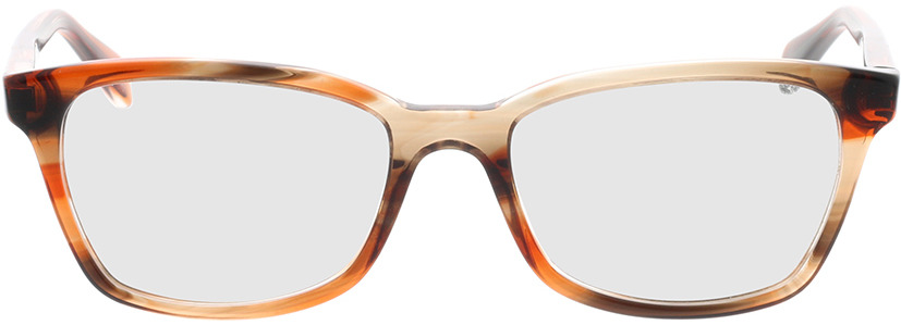 Picture of glasses model Ray-Ban RX5362 8068 52-17 in angle 0