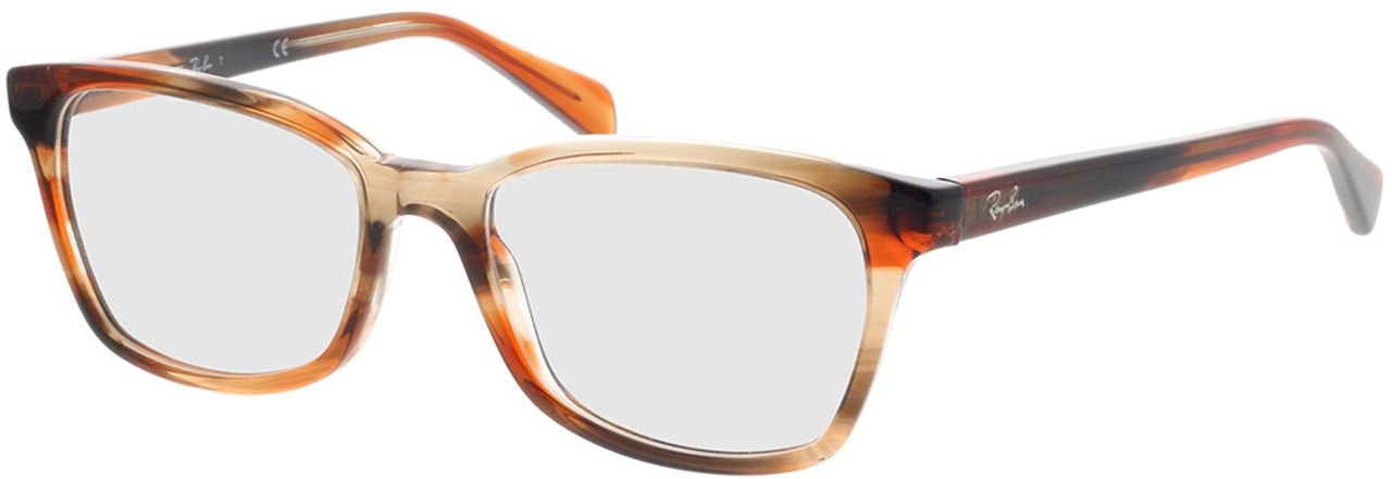 Picture of glasses model Ray-Ban RX5362 8068 52-17 in angle 330