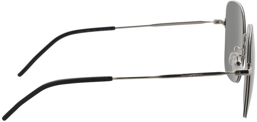 Picture of glasses model Saint Laurent SL 410 WIRE-004 59-18 in angle 90