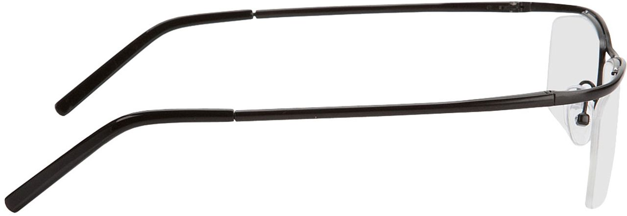 Picture of glasses model Lismore-schwarz in angle 90
