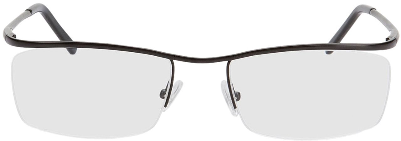 Picture of glasses model Lismore-schwarz in angle 0