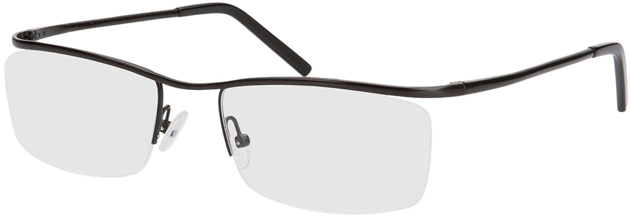 Picture of glasses model Lismore-schwarz in angle 330