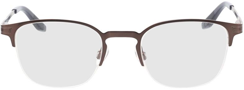 Picture of glasses model Otello-matt braun in angle 0