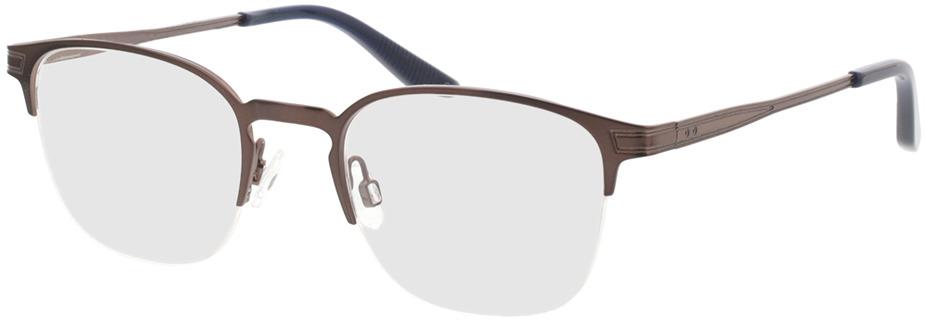 Picture of glasses model Otello-matt braun in angle 330