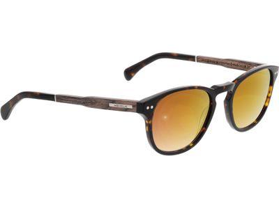 Brille Wood Fellas Sunglasses Stockenfels walnut/havana 51-21