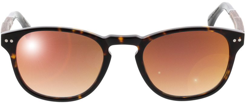 Picture of glasses model Wood Fellas Sunglasses Stockenfels nogueira/Havanna 51-21 in angle 0