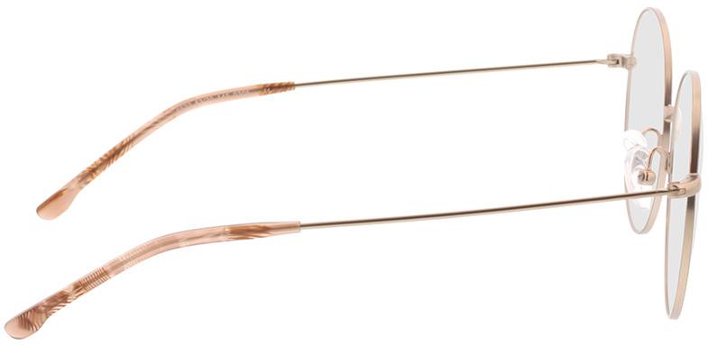 Picture of glasses model Bondy-matt gold in angle 90