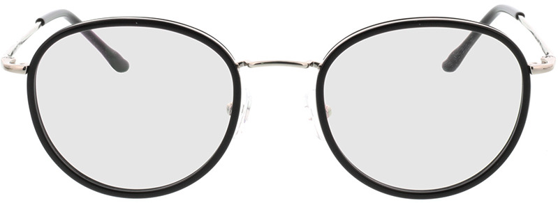 Picture of glasses model Valby zwart/zilver in angle 0