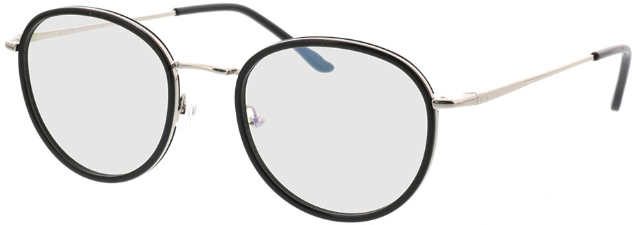 Picture of glasses model Valby zwart/zilver in angle 330