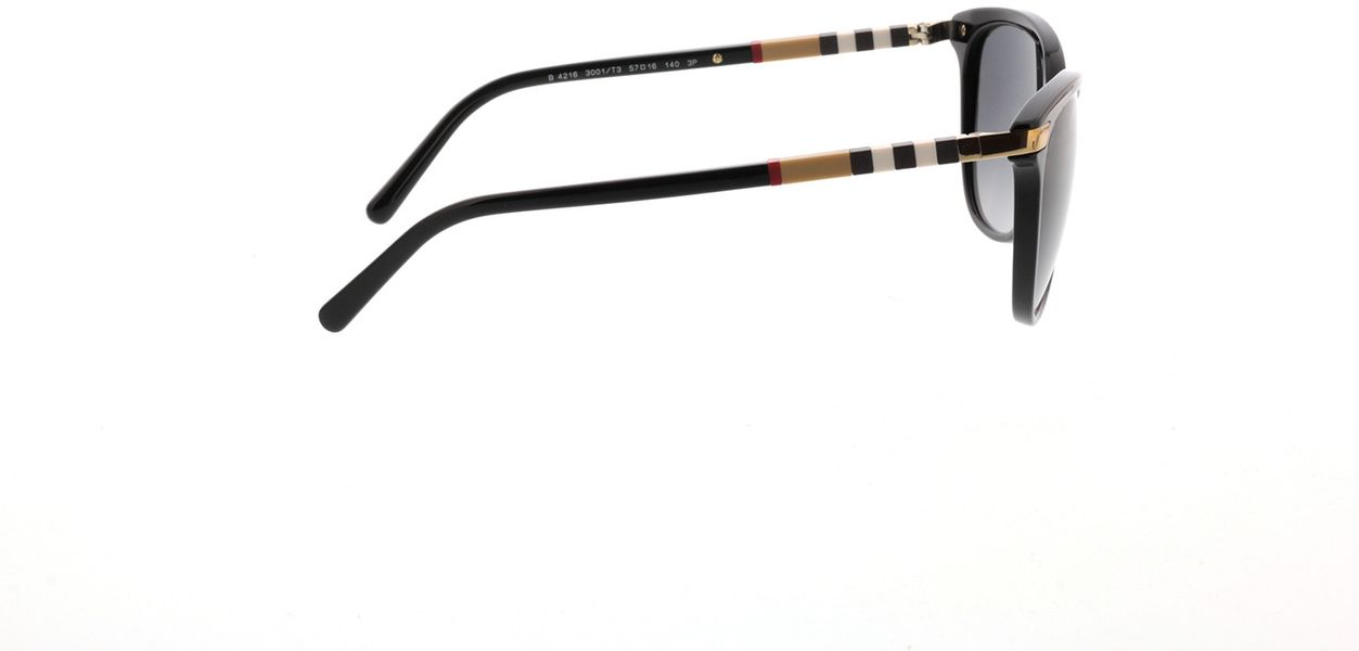 Picture of glasses model Burberry BE4216 3001T3 57-16 in angle 90