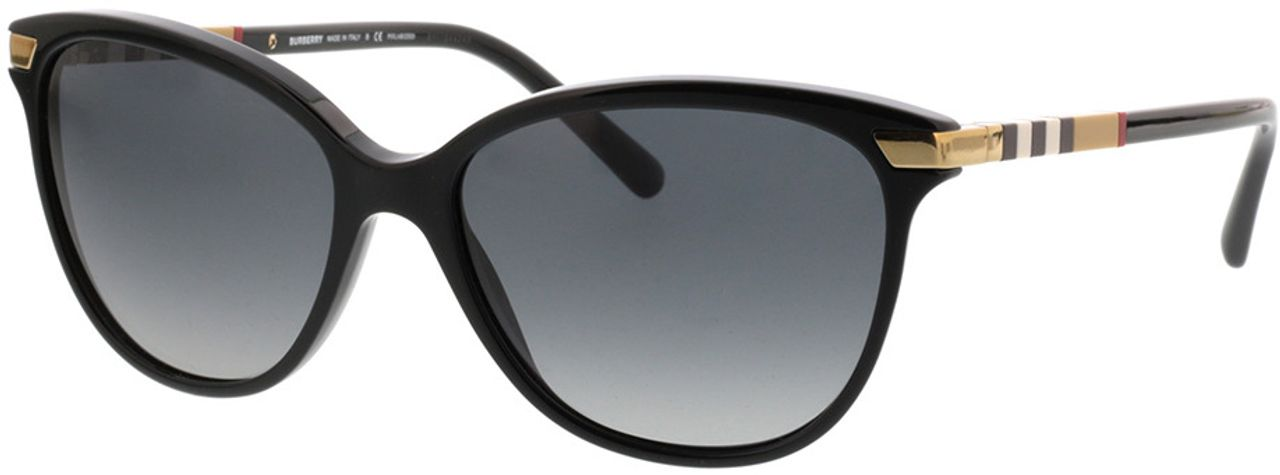 Picture of glasses model Burberry BE4216 3001T3 57-16 in angle 330