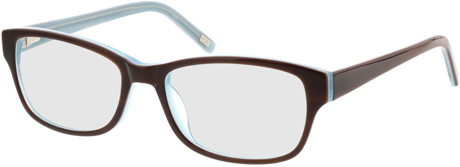 Picture of glasses model Kyra-braun blau in angle 330