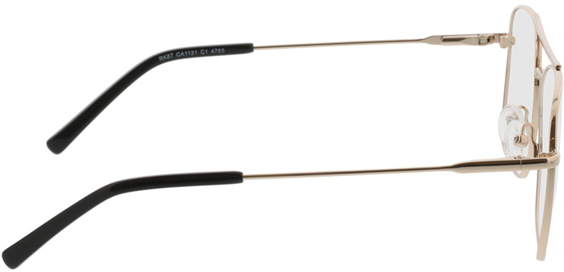 Picture of glasses model Jackson-gold in angle 90