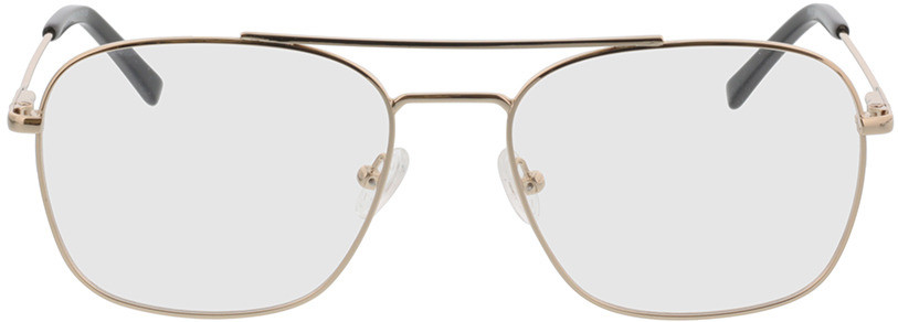 Picture of glasses model Jackson-gold in angle 0