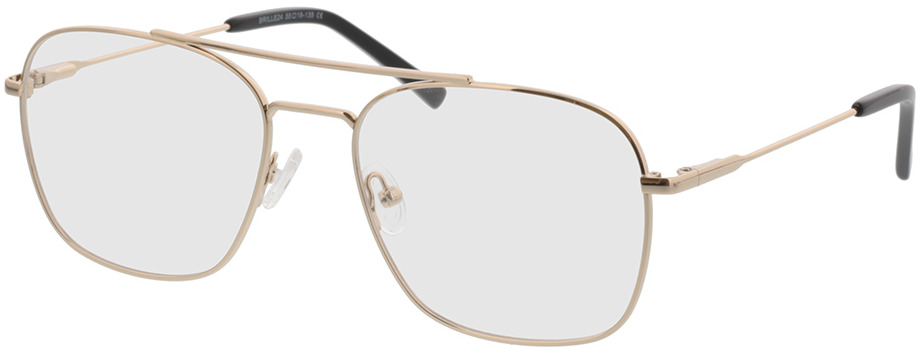Picture of glasses model Jackson-gold in angle 330