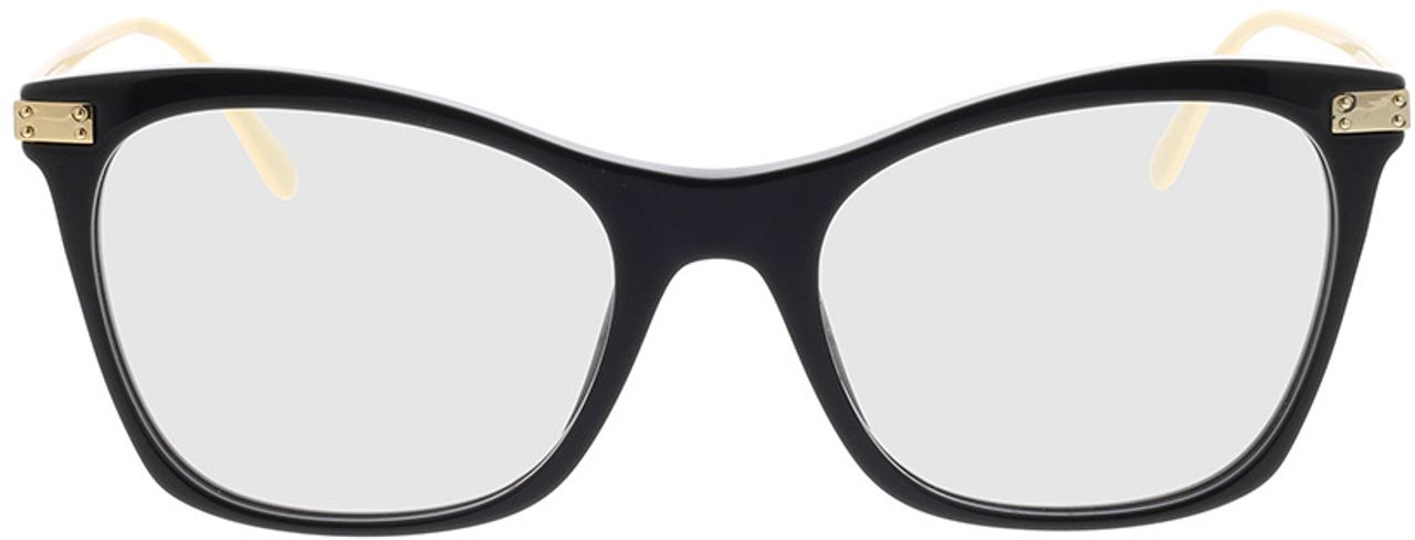 Picture of glasses model Dolce&Gabbana DG3331 501 52-18 in angle 0