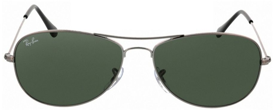 Picture of glasses model Ray-Ban Cockpit RB3362 004 56-14 in angle 0