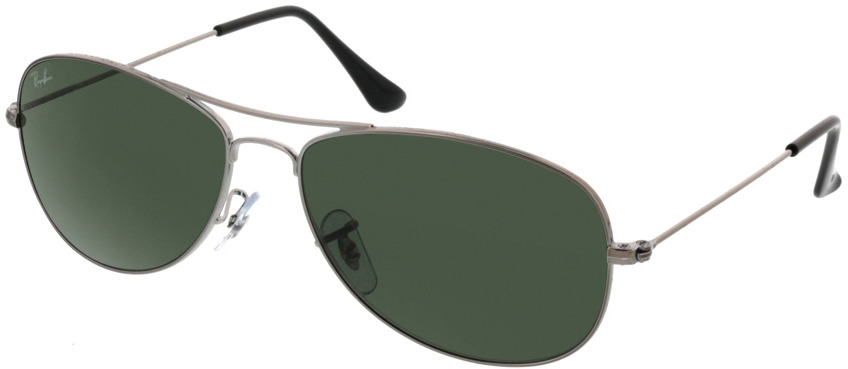 Picture of glasses model Ray-Ban Cockpit RB3362 004 56-14 in angle 330