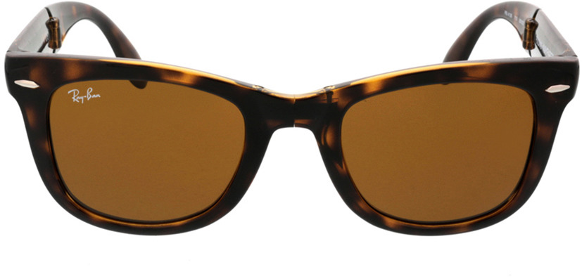 Picture of glasses model Ray-Ban Folding Wayfarer RB4105 710 50-21 in angle 0