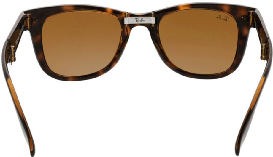 Picture of glasses model Ray-Ban Folding Wayfarer RB4105 710 50-21 in angle 180