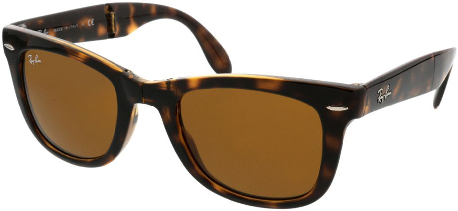 Picture of glasses model Ray-Ban Folding Wayfarer RB4105 710 50-21 in angle 330