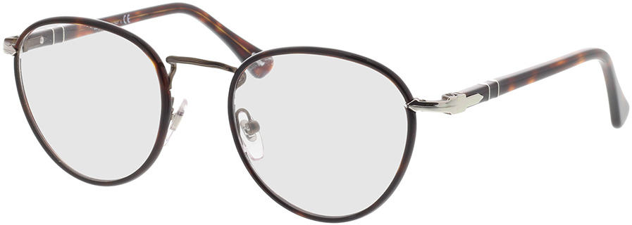 Picture of glasses model Persol PO2410VJ 992 49-20 in angle 330
