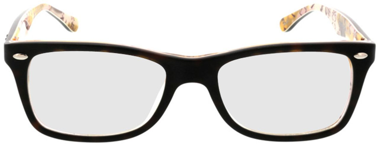 Picture of glasses model Ray-Ban RX5228 5409 50-17 in angle 0
