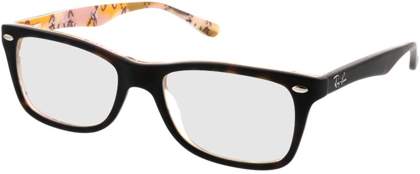 Picture of glasses model Ray-Ban RX5228 5409 50-17 in angle 330