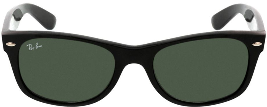Picture of glasses model Ray-Ban New Wayfarer RB2132 901 52-18 in angle 0