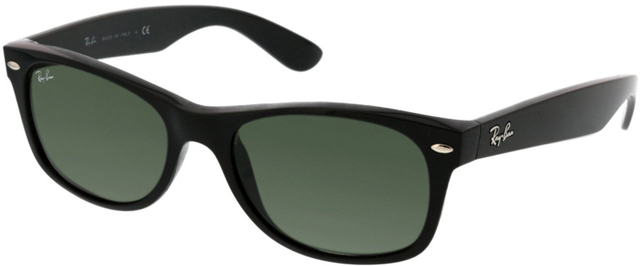 Picture of glasses model Ray-Ban New Wayfarer RB2132 901 52-18 in angle 330