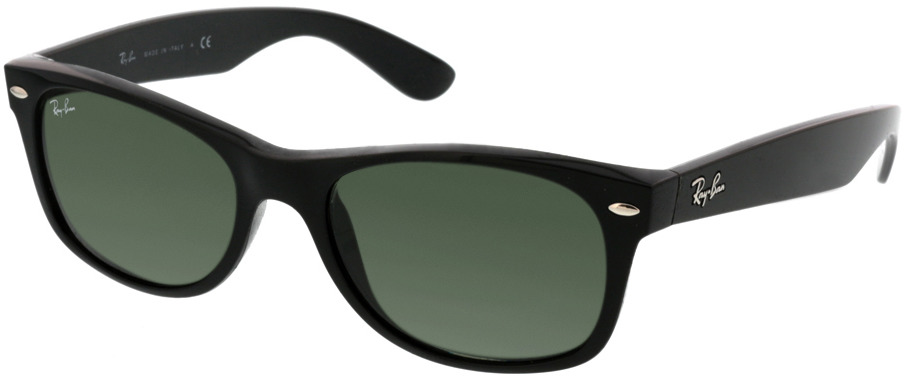Picture of glasses model Ray-Ban New Wayfarer RB2132 901 52-18