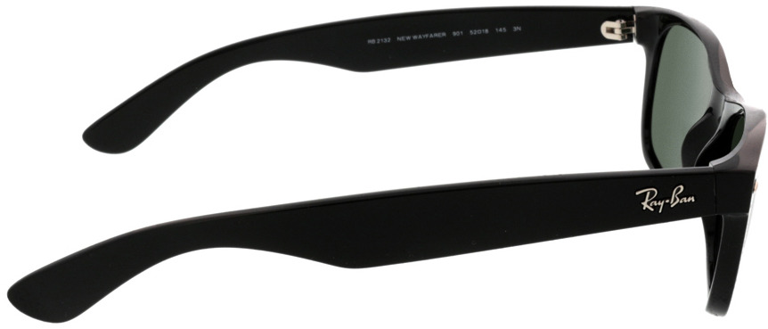 Picture of glasses model Ray-Ban New Wayfarer RB2132 901 52-18 in angle 90