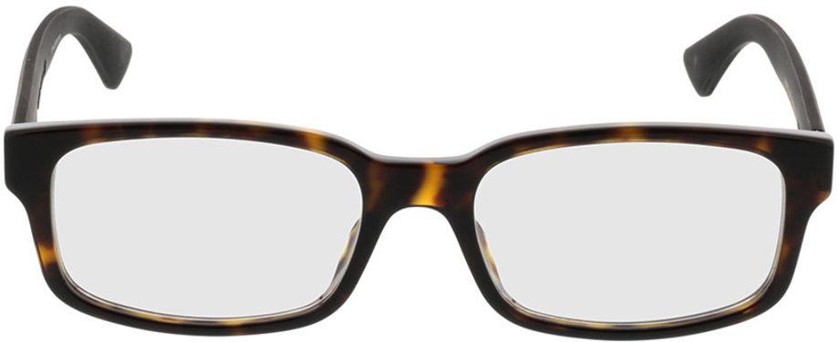 Picture of glasses model Gucci GG0012O-002 54-18 in angle 0