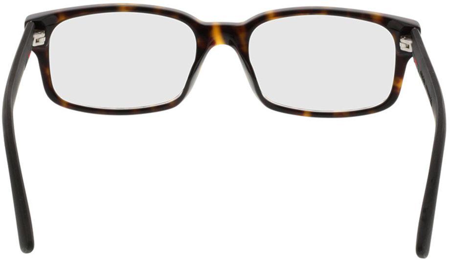 Picture of glasses model Gucci GG0012O-002 54-18 in angle 180