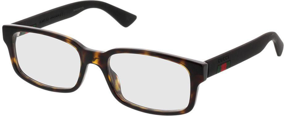 Picture of glasses model Gucci GG0012O-002 54-18 in angle 330