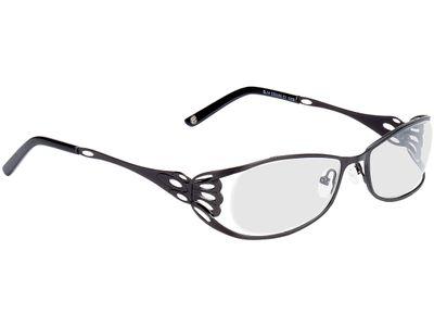 Brille Asmara-schwarz