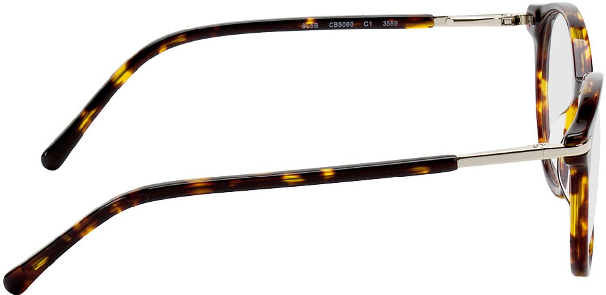Picture of glasses model Madena lightbrown/brown-mottled in angle 90