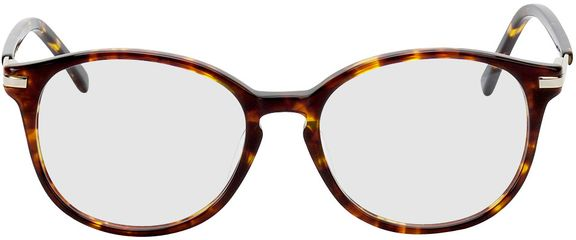 Picture of glasses model Madena-brown-mottled in angle 0